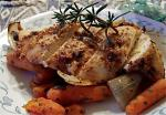 American Honey Mustard Chicken With Roast Vegetables Ww Aust  Pnts BBQ Grill