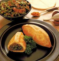 Bolivian Sweet Potato And Green Bean Turnovers Appetizer