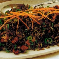 Indonesian Wild Rice And Walnut Salad Appetizer