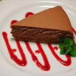 American Chocolate Cheesecake 9 Dessert