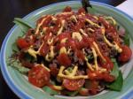 American Low Carb  Im Dying for a Burger Salad Appetizer