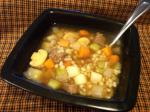 American Nifs Hearty Healthy Beef Barley Soup   Ww Pts Appetizer