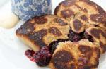 American Panfried Blackberry Tart  Womans Weekly Recipe Dessert