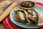 Indian Crispy Eggplant Pitas Appetizer