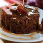 Dessert Toffee with Caramel Sauce recipe