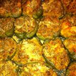 Chinese Seafood Stuffed Bell Peppers Appetizer