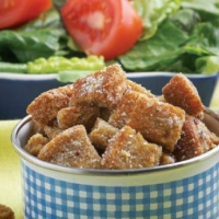 Angolan Cheese and Garlic Croutons Other