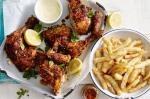 Portuguese Butterflied Portuguese Chicken With Lemon Mayonnaise Recipe Appetizer