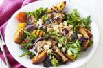 Portuguese Chicken Peach And Feta Salad Recipe recipe