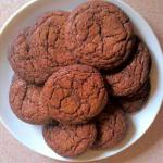 American Chewy Chocolate Cookies 12 Dessert