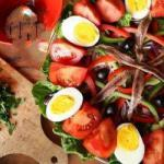 French Real Salade Nicoise Appetizer