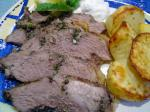 American Grilled Butterflied Leg of Lamb with Lemon Herbs and Garlic 1 Dinner