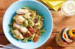Canadian Szechuan Cabbage Salad With Crisp Chicken Recipe Dinner
