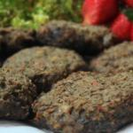 British Baked Mushroom and Lentils Fritters Appetizer