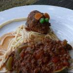 Minced Meat Mice for Halloween recipe