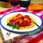 Canadian Spaghetti and Chicken Meatballs 1 Drink