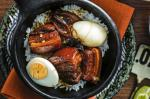 Canadian Soybraised Pork Belly With Marbled Eggs Recipe Dinner