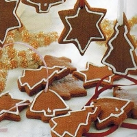 Canadian Ginger Christmas Tree Biscuits Dinner