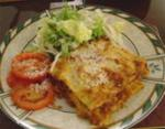 Italian Lasagna with a Bit of a Bite Dinner