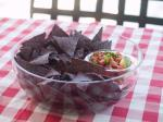 Fresh And Easy Salsa With Blue Corn Chips  recipe