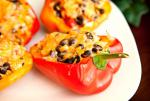 American Black Bean Stuffed Bell Peppers Appetizer