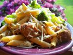 Italian Sweet Italian Sausage With Penne Pasta Appetizer