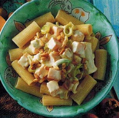 Italian Rigatoni With Pumpkin Sauce Dinner