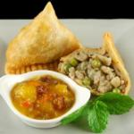 British Gujarati Samosa Appetizer