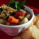 American Vegetable Soup with Six Fruit Soup