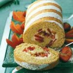 Brazilian Brazilian Roll rocambole of Fruit Dessert