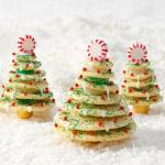 American Stacked Christmas Tree Cookies Dessert