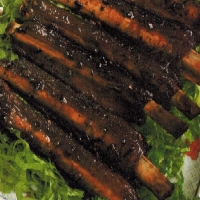 Chinese Five Spice and Garlic o Spare Ribs Appetizer