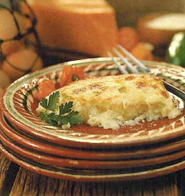 Mexican Hominy Grits Cheese And Chile Casserole Dinner