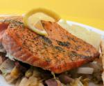 Irish Slowroasted Salmon With Cabbage Bacon  Dill Dinner