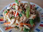 Chinese Asian Chicken Broccoli Slaw Appetizer