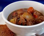 American Cider Beef Stew for Two Dinner