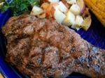 American Simple and Brilliantly Tasty Grilled Steak Dinner