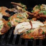 American Chicken to Provencal Grilled Appetizer