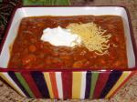 American Crock Pot Chili Chili and Beans Dinner