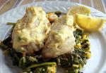 American Red Snapper with Mustard Sauce Dinner