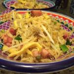 Australian Fried Rice with Ham and Egg 1 Appetizer