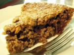 American Oatmeal Raisin Cookie Pie I Dessert
