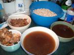 American Scottish Oxtail Soup Dinner