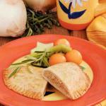 British Sweet Onion Turnovers Appetizer