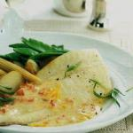 British Turbot with Maltese Sauce Appetizer