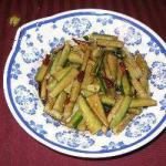 British Sichuan Salad of Cucumbers Appetizer
