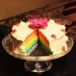 British Rainbow Cake birthday Cake Dessert