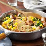 American Sausage and Vegetable Skillet Dinner Appetizer