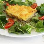 French Hachis Parmentier french Minced Beef Casserole Appetizer