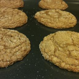 Australian Chewy Ginger Snaps Alcohol